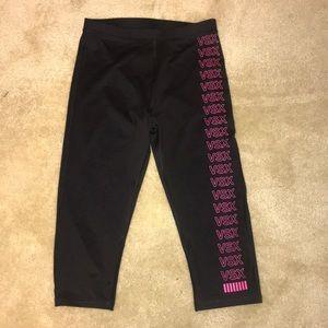 Victoria Secret cropped workout leggings